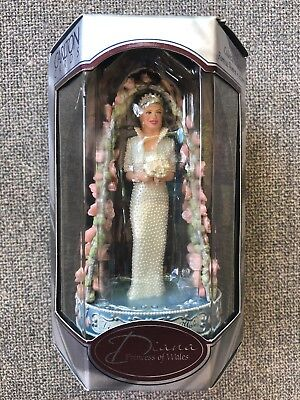 1998 Carlton Cards Heirloom Collection 10th Anniversary Diana Princess Of Wales