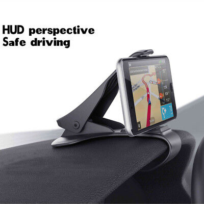 HUD Dashboard Mount Holder Stand Car Bracket For Universal Mobile Cell Phone GPS