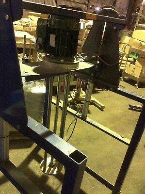 Shear Mixer 4Kw With Stand Pneumatic Lift Rigal Bennett Like Silverson