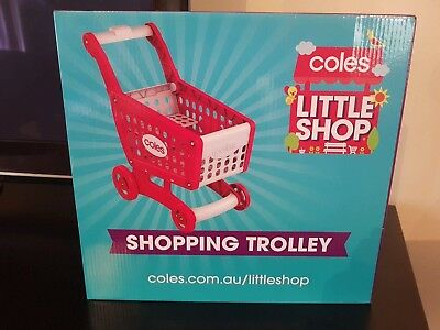 Coles Little Shop Trolley Collectable Limited edition Brand New Sealed w Box Toy
