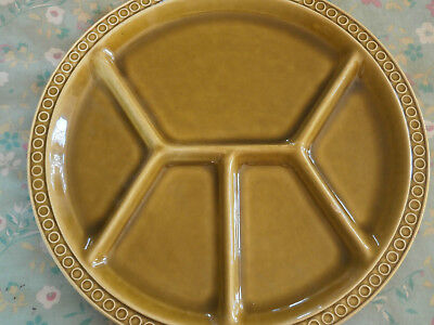 Aalen Rothenburg Germany nibbles tray 1960/70s in olive green vintage