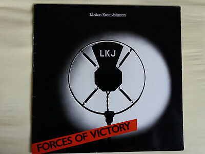 LINTON KWESI JOHNSON - FORCES OF VICTORY, LP 1979, sehr guter Zustand