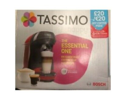 BOSCH Tassimo Happy Drinks Maker (Black)