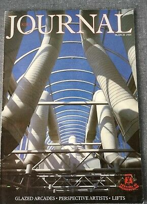 RIBA Journal Mar 84 Glazed Arcades Lifts Gateway Two Basingstoke Rosslyn Lodge