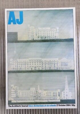 Architects Journal 17 Oct84 Strathclyde University Six Schools Work Eiffel Tower