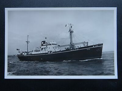 Shipping M.V. AUK General Steam Navigation Co. - Old RP Postcard by Wheatley
