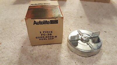 NOS Autolite 1962 Ford Fairlane B-Body Vented Gas Fuel Cap