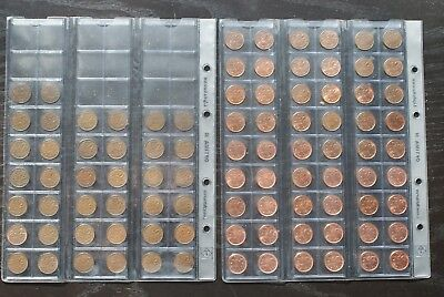 Canadian 1 Cent Collection lot 1920-2012