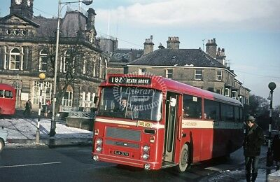 PHOTO North Western Bristol RELL 317 NJA317H in 1970 at Buxton Market Place