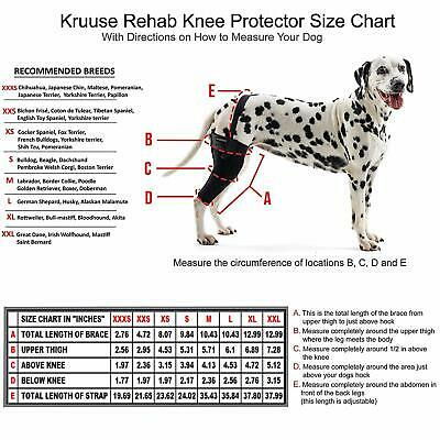 Kruuse Left Rehab Knee Protector, Medium, Premium Service, Fast Dispatch