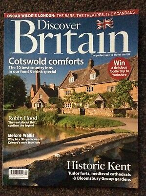 Discover Britain Cotsolds Comforts magazine oct/nov 2018