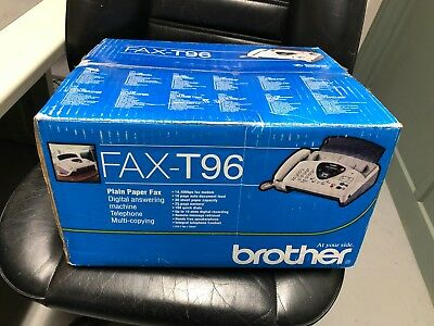 Brother fax T96 , telephone, fax, copier