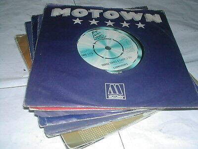 "Stevie Wonder/diana Ross/ Lionel Richie/commodores - Motown 13 X 7"" Singles"
