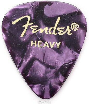 Fender 351 Shape Premium Celluloid Picks - Heavy P