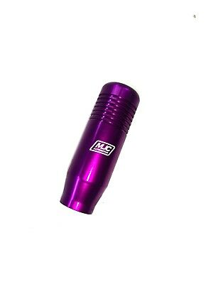 MJC Automotive Gear Knob In Purple Mugen Style Universal fitment with adaptors