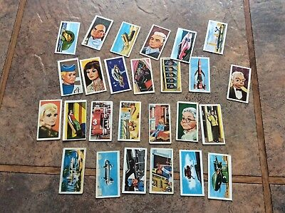 Barratt - Thunderbirds A Series 1968,   26 Cards