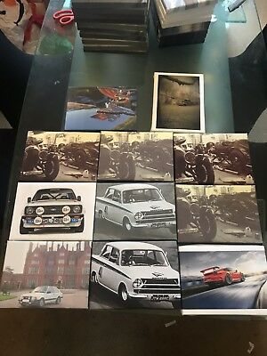 Joblot 11 Miss Printed Car Canvas Prints