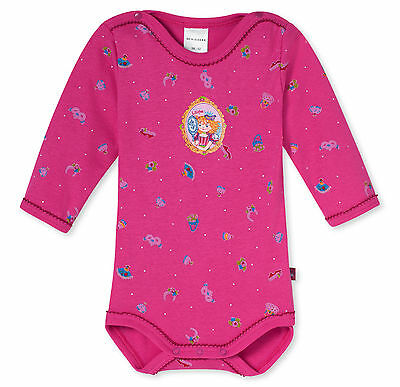 Schiesser Baby Bodysuit Long Sleeved Princess Lillifee 68 74 80 86 92 98