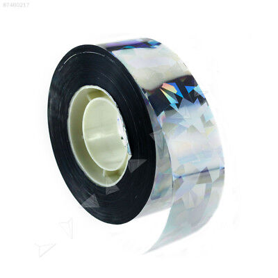 2C4E Visual Audible Reflective Bird Ribbon Holographic Flash Bird Scare Tape 90M