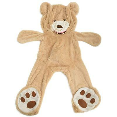 Teddy Bear Cover DIY Gift Huge Plush Bear Life Size Giant Bear Animal Toy 63""