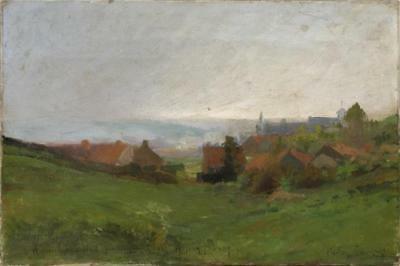 Museum Quality 19th Century French Oil on Canvas, Signed