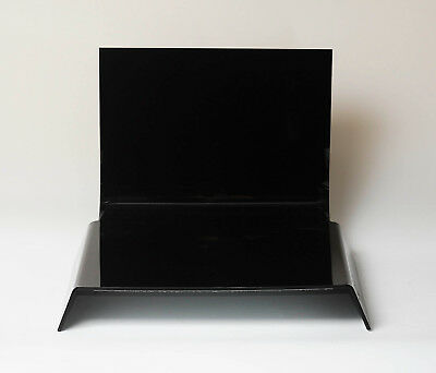 ALZO Small Black Photo Riser Platform 11x11 Inches for Product Photography