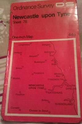 Old Map of north east. **99p**