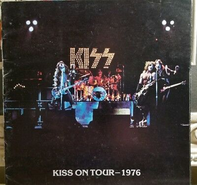 Kiss 1976 Alive Tour Book Complete With Inserts!! Autographed By Ace!!!