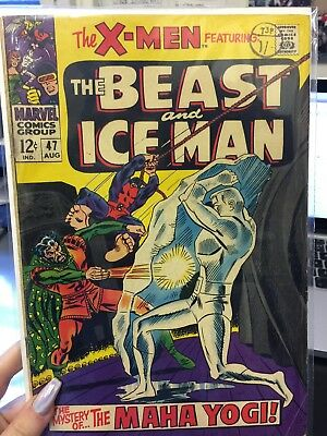 The X-Men Featuring The Beast And Iceman#47 1968