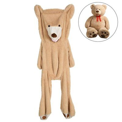 "78"" Giant Skin Teddy Bear Cover Huge Stuffed Plush Bear Case Animal Toy Gifts"