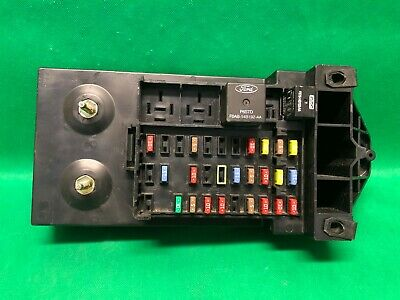 01 2001 ford super duty f250 interior dash fuse box relay fusebox  yc3t-14a067-