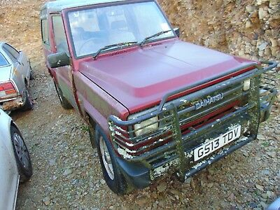 Daihatsu Fourtrak Rocky 1990 2.8D DL , F75 Spares Repairs Export MOT fail