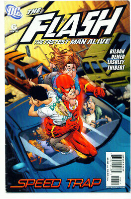 |•.•| FLASH: THE FASTEST MAN ALIVE • Issue #6 • DC Comics