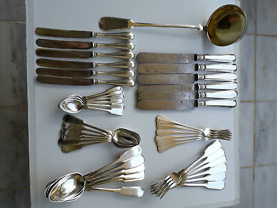 Antique Russian Beautiful 19th century boxed cutlery   Fraget WARSZAWIE
