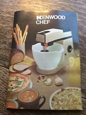 Kenwood Chef A901 Instruction And Recipe Book Edition 6 - New