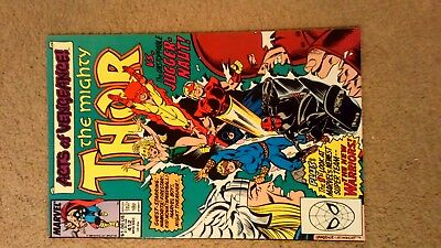 Marvel The Mighty Thor 1st Look Newest Super Team  #412