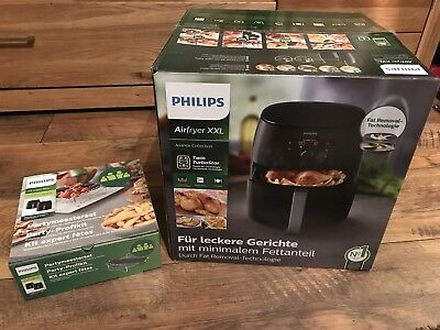 PHILIPS Avance Collection Airfryer XXL Fritteuse Heißluft Incl. Party-Profi-Kit