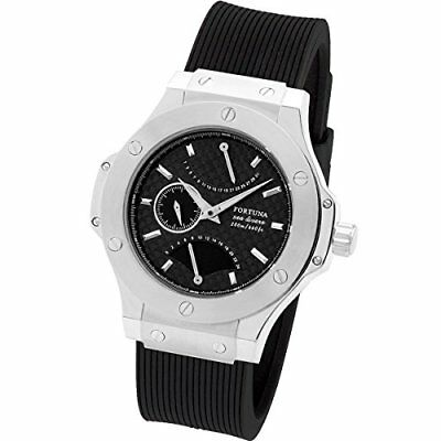 [Fortuna] 200 Meters Waterproof Dive Watch with Retrograde/Watch for (Silver)