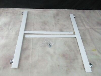 T-Shape Gridwall Panel Legs Display Set Of 2 White (Open Box)