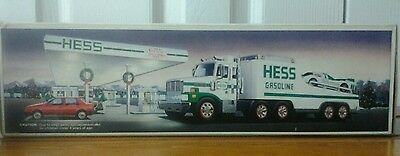 1988 Hess Toy Truck And Racer