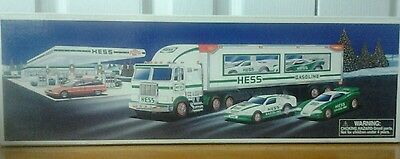 1997 Hess Toy Truck And Racers