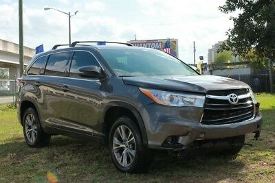 2016 Toyota Highlander LE 4dr SUV (3.5L V6) 2016 Toyota Highlander LE SALVAGE TITLE, REPAIRABLE, FIXABLE