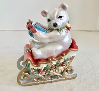 Fitz and Floyd Classics Enchanted Holiday Salt & Pepper Shakers