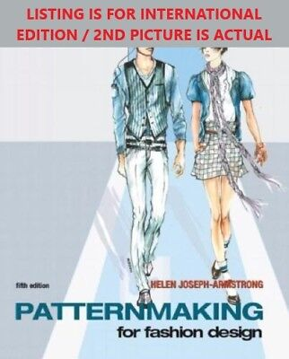 4DAYS FedEx DELIVERY-Patternmaking for Fashion Design by Armstrong, 5TH INT'L ED