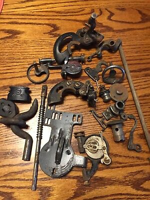 Large Vintage Lot Of Sewing Machine Accessories 3