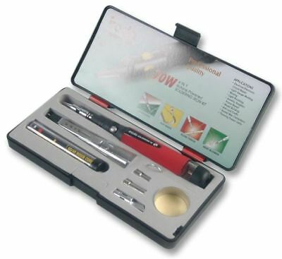 IRODA - Soldering Iron, Gas, 25-80W Kit