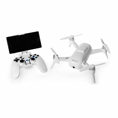 Yuneec Breeze Drone With 4K Camera & Bluetooth Controller (YUNFCAUSWAL)