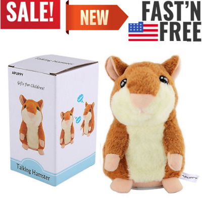 Top Quality Cheeky Talking Hamster Mouse for Boy and Girl Plush Animal Toy Gift