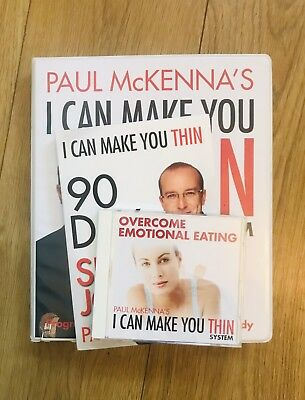 Paul Mckenna I Can Make You Thin System C.Ds And Book