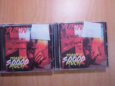 Yubin - Thank U Soooo Much (digital Single) with Autographed (Signed)